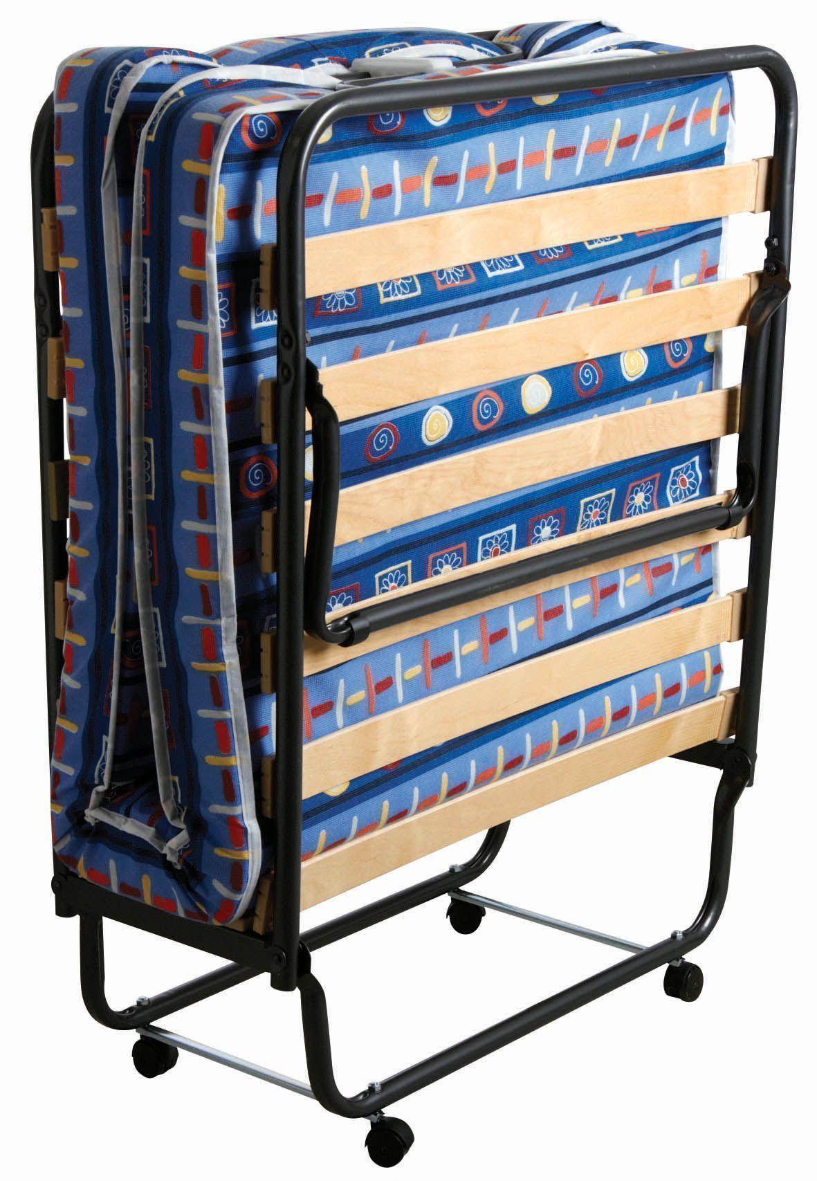 lit d 39 appoint pliant como bleu fonc. Black Bedroom Furniture Sets. Home Design Ideas