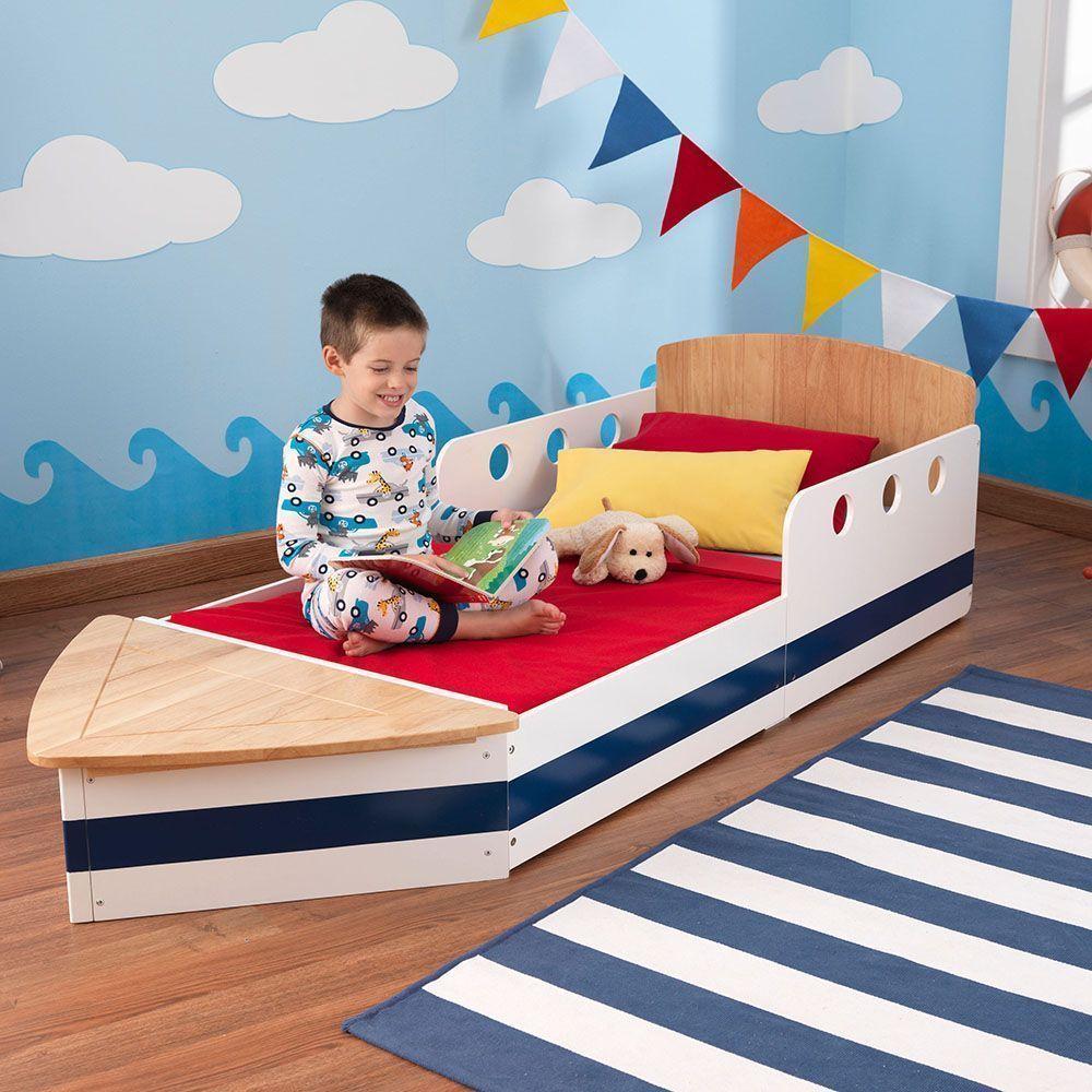 lit enfant bateau. Black Bedroom Furniture Sets. Home Design Ideas