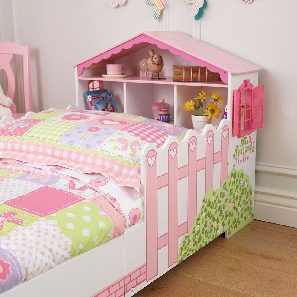 lit pour enfant maison de poup e. Black Bedroom Furniture Sets. Home Design Ideas