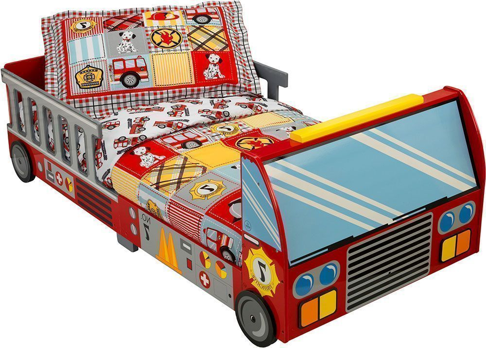 lit pour enfant pompier. Black Bedroom Furniture Sets. Home Design Ideas