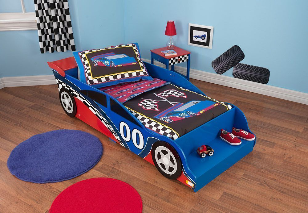 lit pour enfant voiture de course. Black Bedroom Furniture Sets. Home Design Ideas