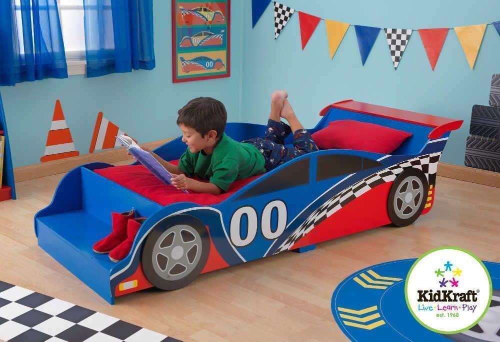 Lit pour enfant voiture de course
