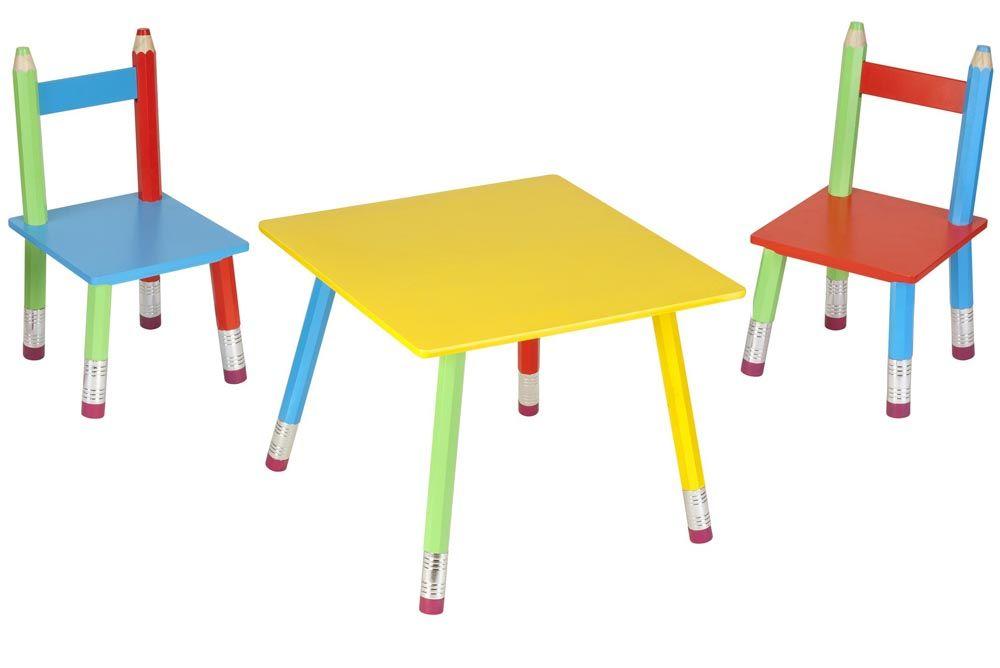 Salon pour enfant crayons