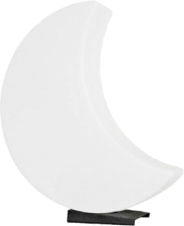 Lune lumineuse blanche changement couleur LED