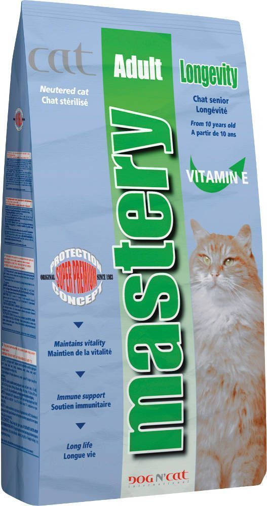 Croquettes mastery chat adulte senior 400g