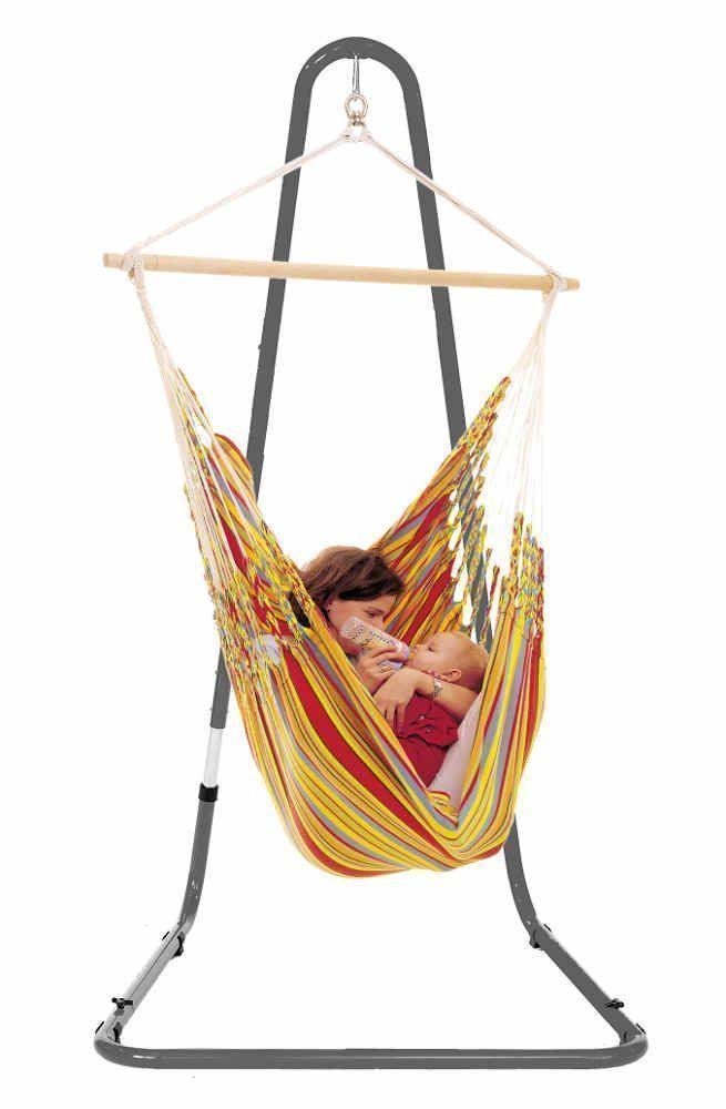 support pour hamac chaise mediterraneo anthracite suppport pour hamac la siesta sur. Black Bedroom Furniture Sets. Home Design Ideas
