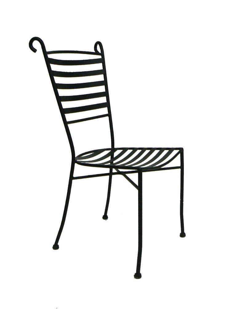 Bien choisir une chaise de jardin en fer forg pas ch re for Chaise en fer forge