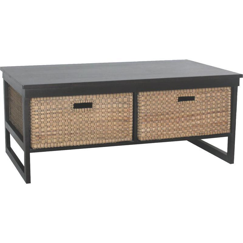 Table basse pratique esth tique tiroirs rangement - Table basse pratique ...