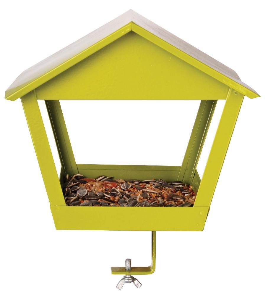 mangeoire oiseau pour balcon vert. Black Bedroom Furniture Sets. Home Design Ideas