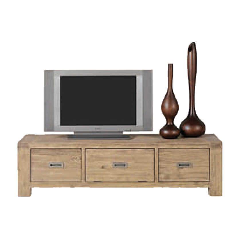 meuble tv acacia nevada. Black Bedroom Furniture Sets. Home Design Ideas