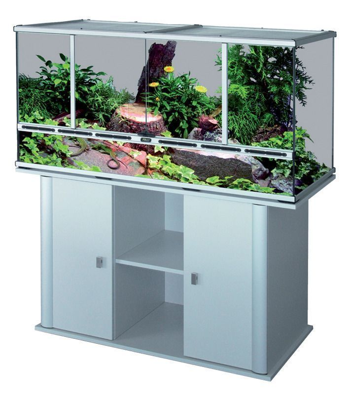 Meuble design pour terrarium 118 cm for Meuble aquarium design