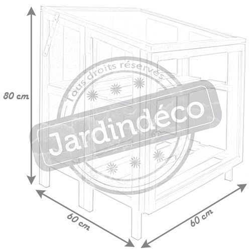 mini serre de jardin en bois dur. Black Bedroom Furniture Sets. Home Design Ideas