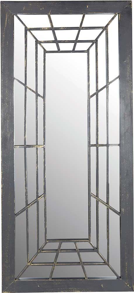 Miroir trompe l 39 oeil rectangulaire - Miroir trompe l oeil ...
