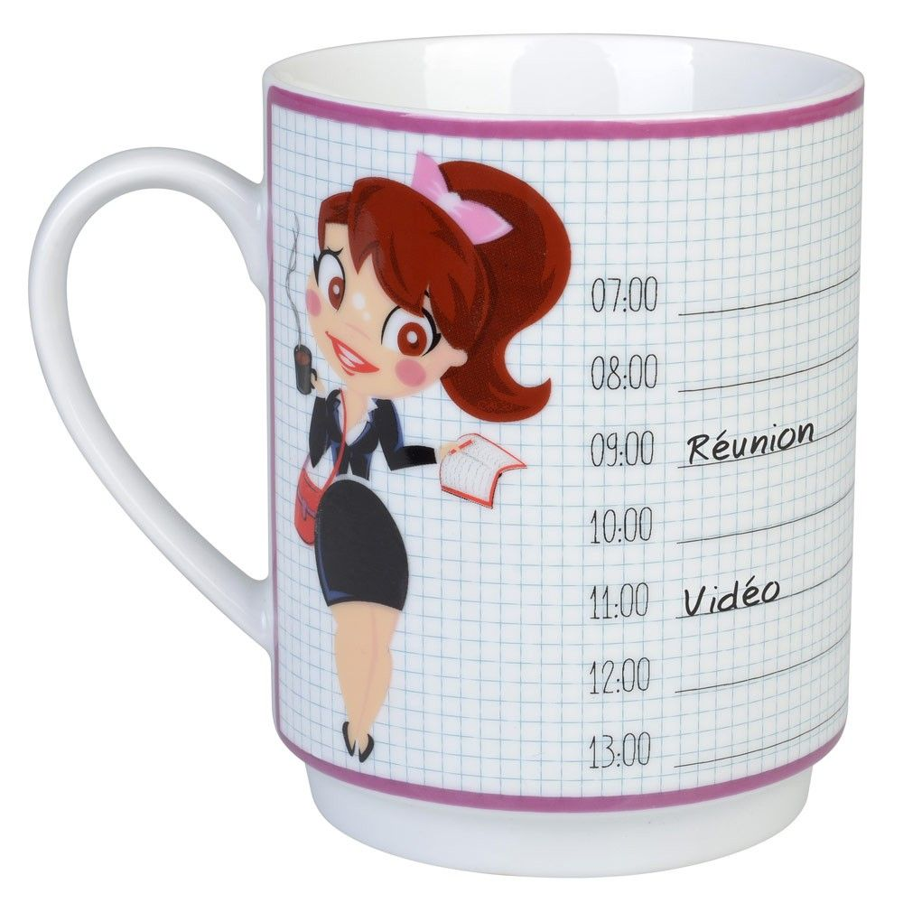Mug de bureau agenda by La chaise longue