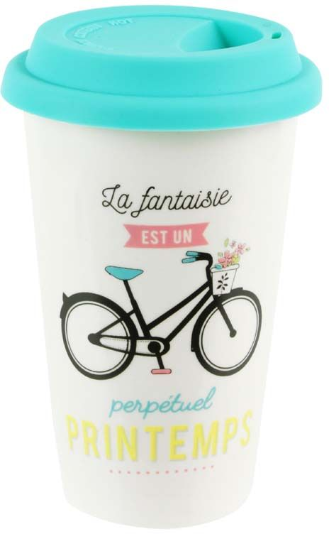 Mug de transport Sur la route
