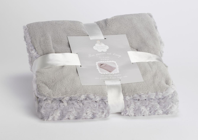 nid d 39 ange gris 6 12 mois. Black Bedroom Furniture Sets. Home Design Ideas