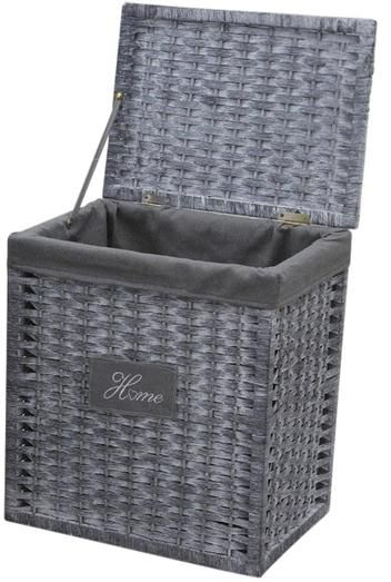 panier a linge osier gris 28 images panier a linge. Black Bedroom Furniture Sets. Home Design Ideas