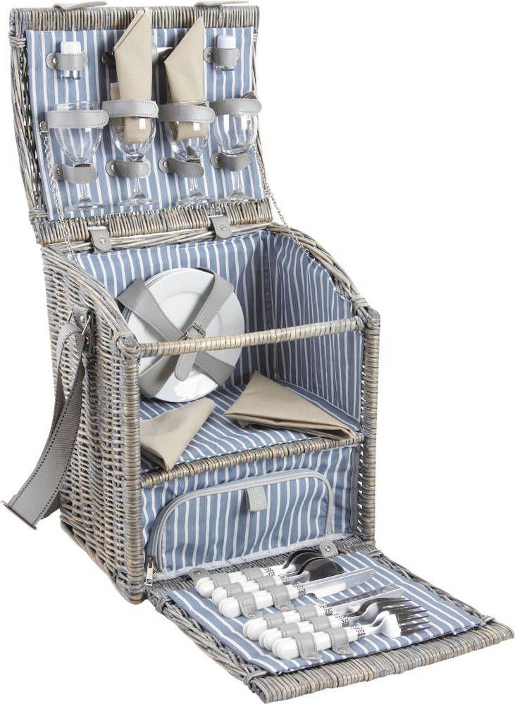 panier pique nique avec compartiment isotherme. Black Bedroom Furniture Sets. Home Design Ideas