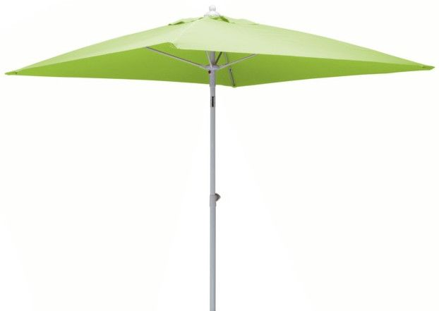Parasol inclinable fibre de verre