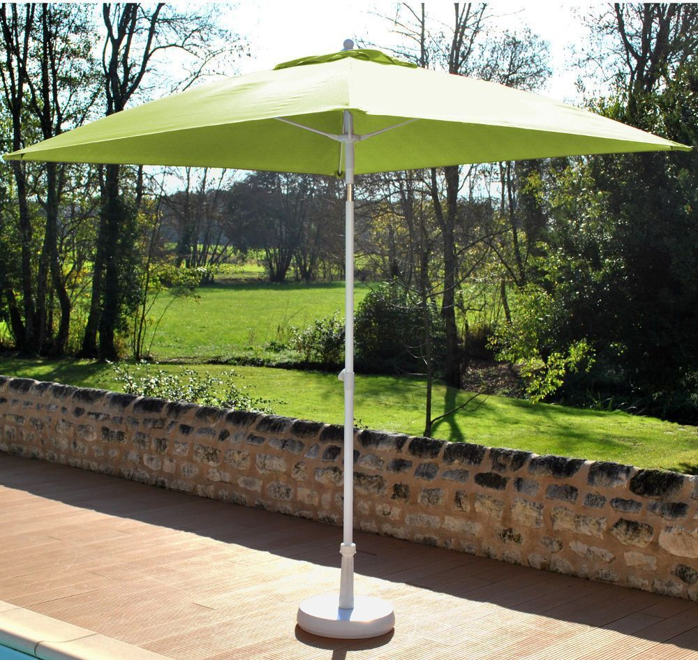 Parasol inclinable fibre de verre-2