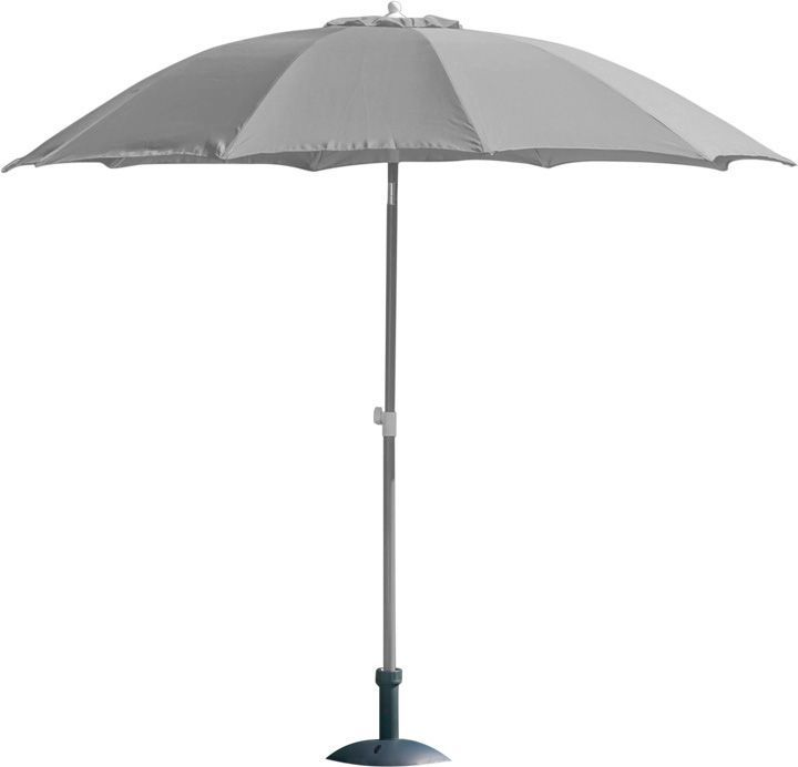 Parasol rond inclinable aluminium 2,70m by Proloisirs