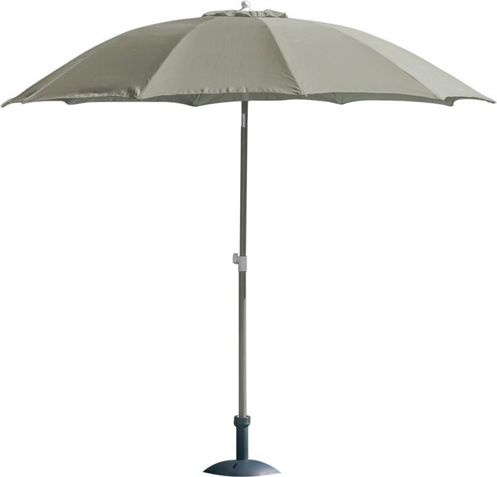 Parasol rond inclinable aluminium 2,70m