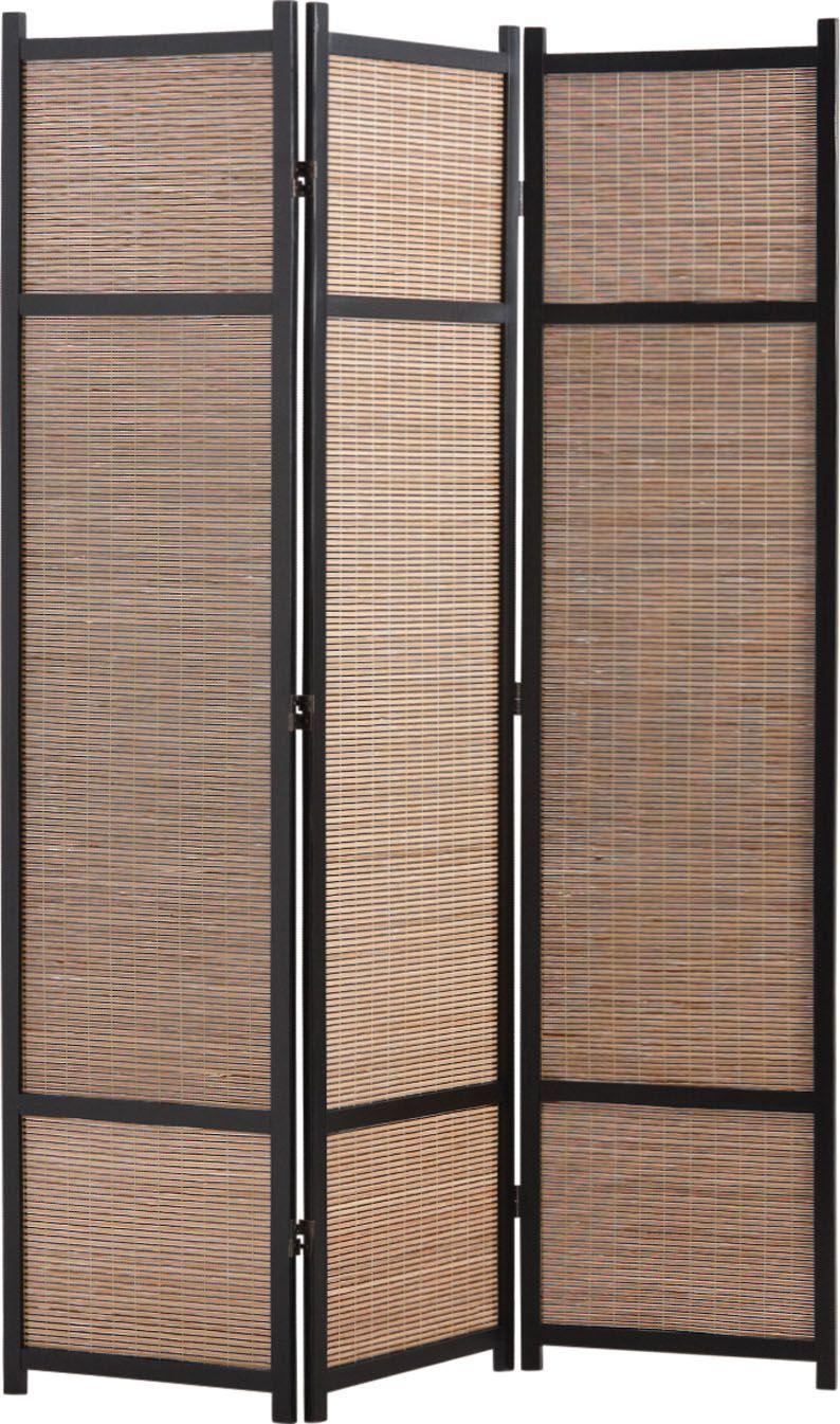 paravent en bois et bambou. Black Bedroom Furniture Sets. Home Design Ideas