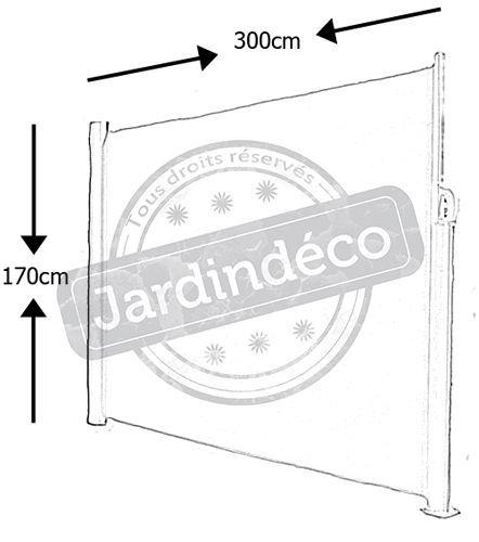 Paravent retractable 28 calais for Paravent retractable interieur
