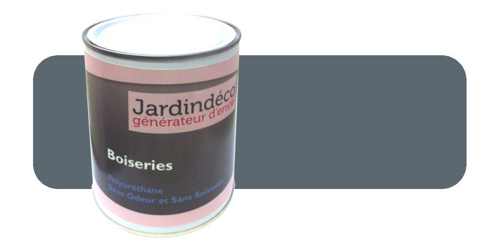 Peinture gris bleu pour meuble en bois brut 1 litre for Peinture patinee pour meuble