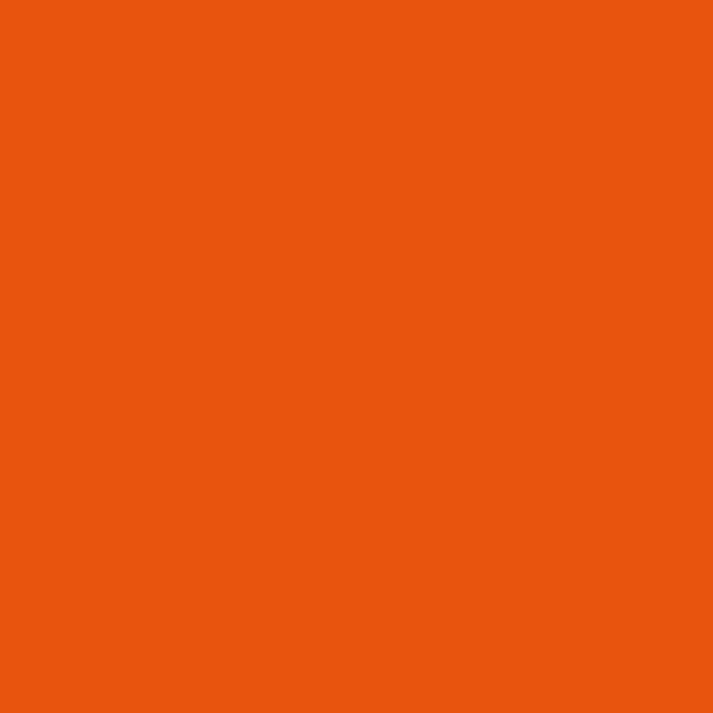 peinture orange pur pour meuble en bois brut 1 litre