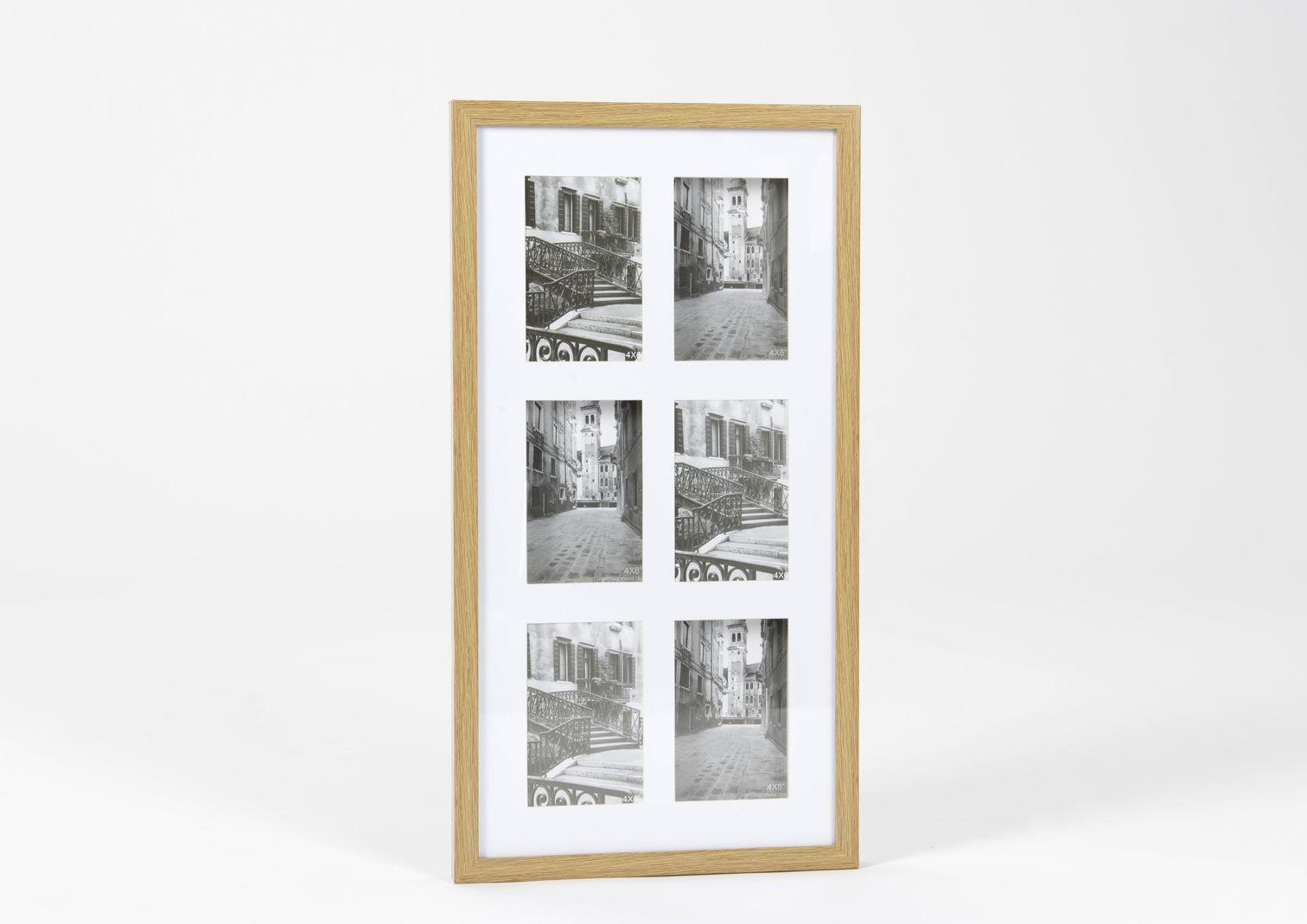cadre photo en bois p le m le vertical. Black Bedroom Furniture Sets. Home Design Ideas