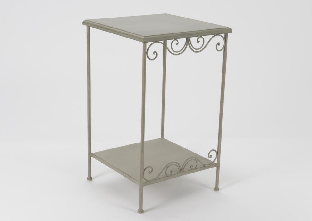 Petit meuble d 39 appoint m tal et bois megeve - Petits meubles d appoint ...
