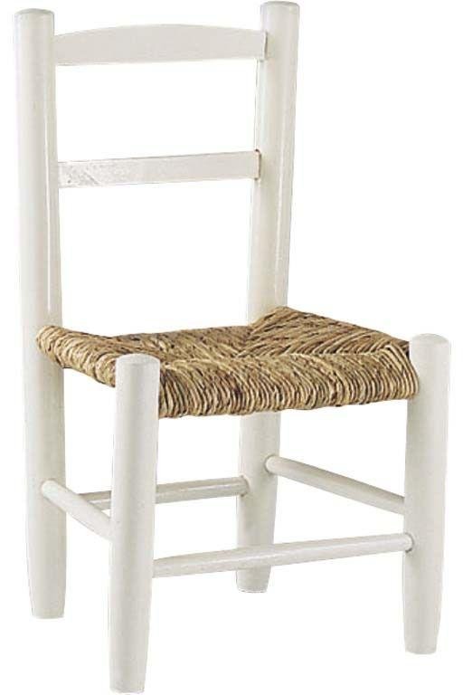petite chaise bois pour enfant blanc. Black Bedroom Furniture Sets. Home Design Ideas