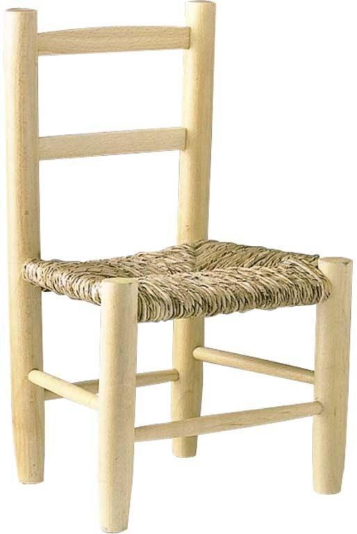 petite chaise bois pour enfant naturel blanchi. Black Bedroom Furniture Sets. Home Design Ideas