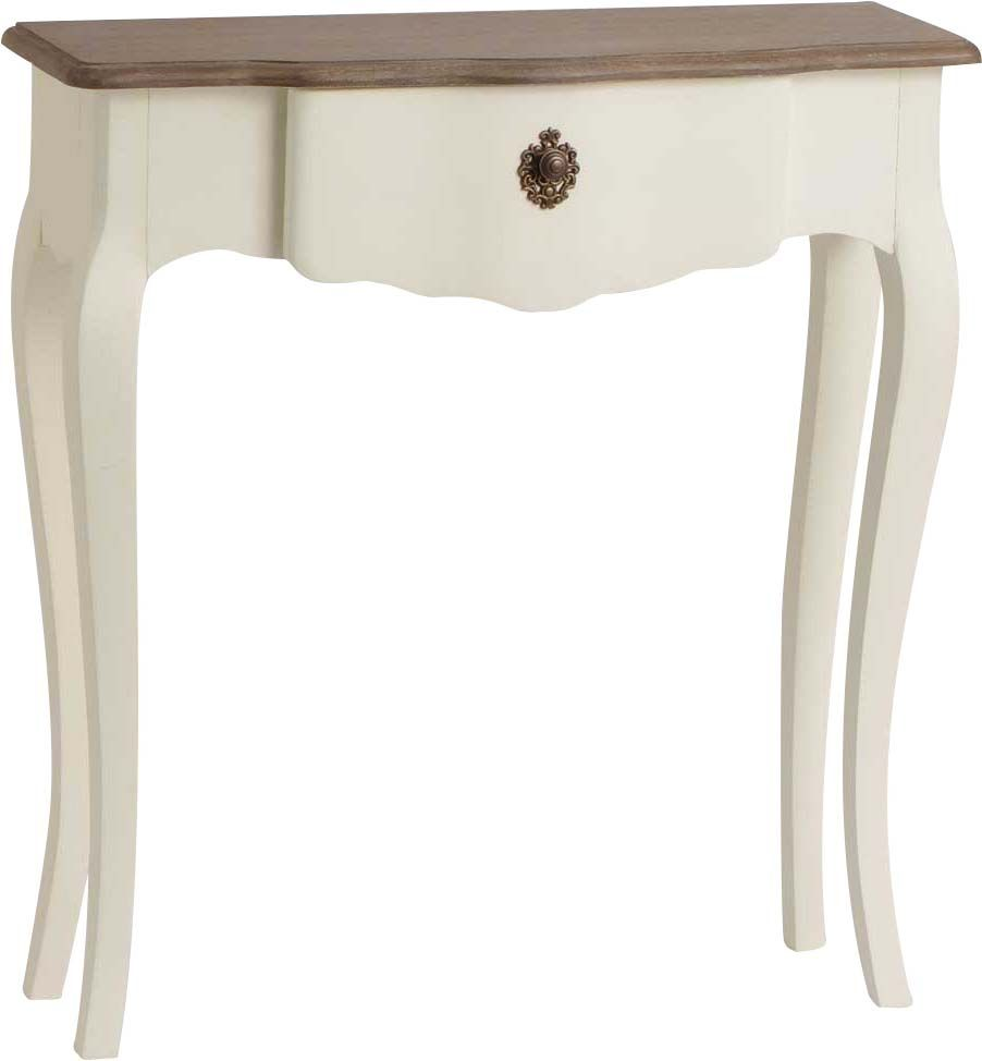 petite console blanche celestine en bois mdf. Black Bedroom Furniture Sets. Home Design Ideas
