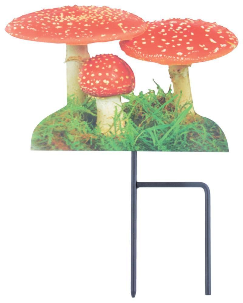 Pique de jardin motif Amanite tue-mouches by Esschert design
