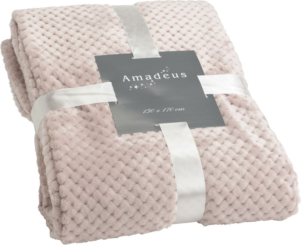 Plaid Damier 130x170 cm by Amadeus