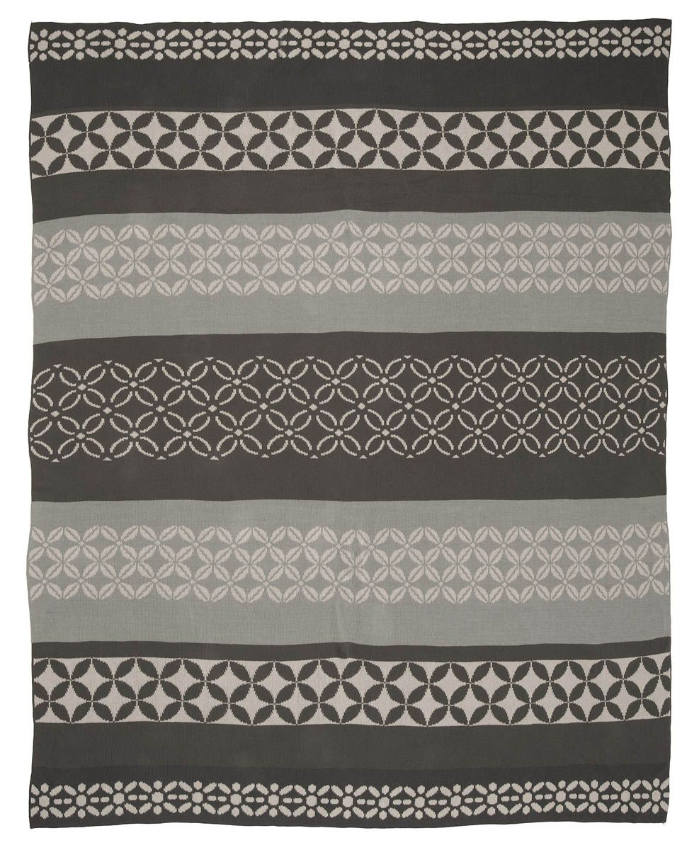 Plaid coton Riverway gris-3