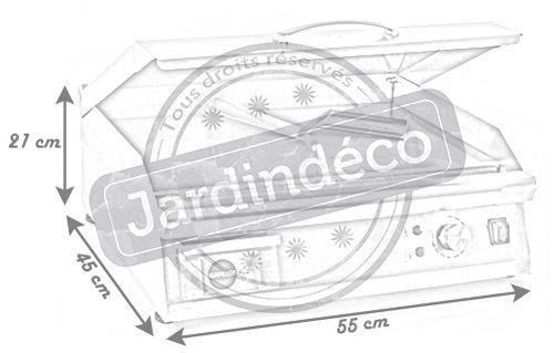 plancha lectrique en inox qualit pro bbplancha. Black Bedroom Furniture Sets. Home Design Ideas