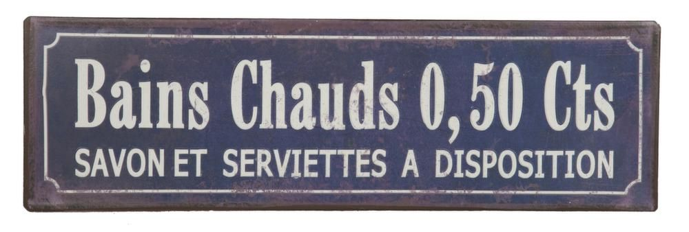 Plaque bains chauds 0,50 Cts by Antic line cr�ations
