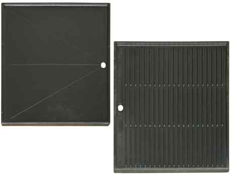 plaque cuisson plancha r versible en fonte plaque barbecue plancha sur. Black Bedroom Furniture Sets. Home Design Ideas
