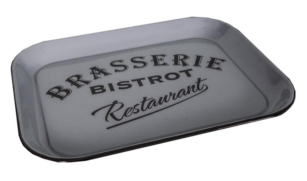 Plateau rectangulaire Brasserie bistrot restaurant by Antic line créations