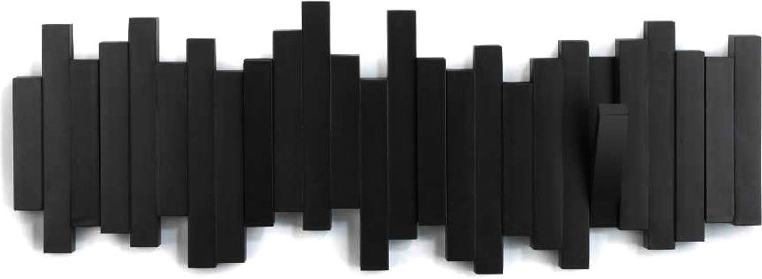 porte manteau design mural sticks. Black Bedroom Furniture Sets. Home Design Ideas
