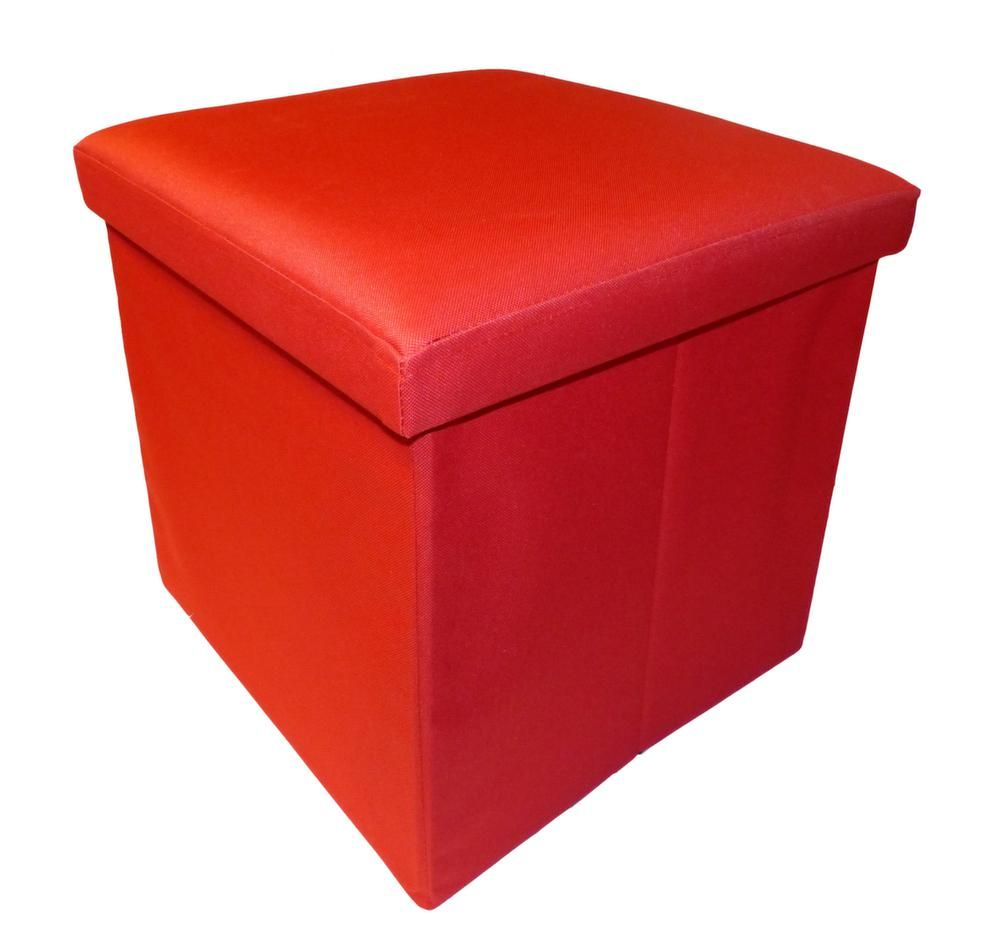 Pouf pliable Oxford