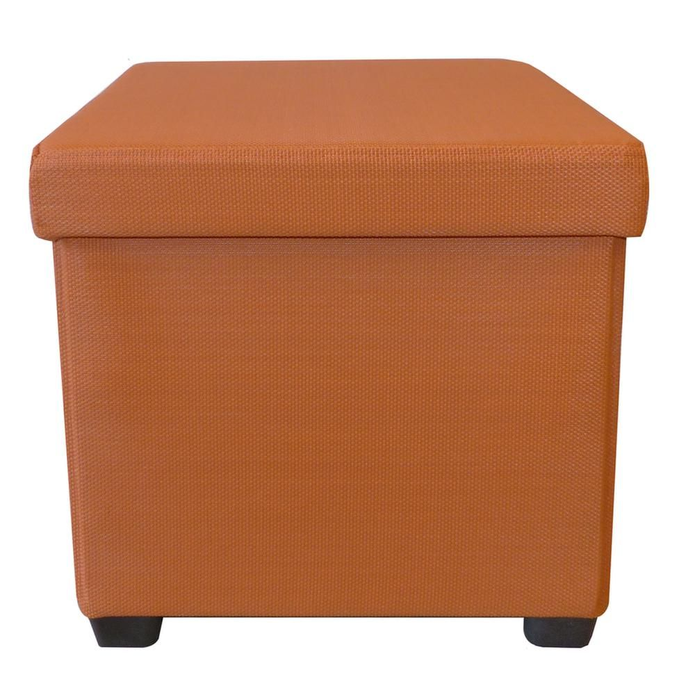 Pouf coffre pliable 2 en 1 by Cotton wood