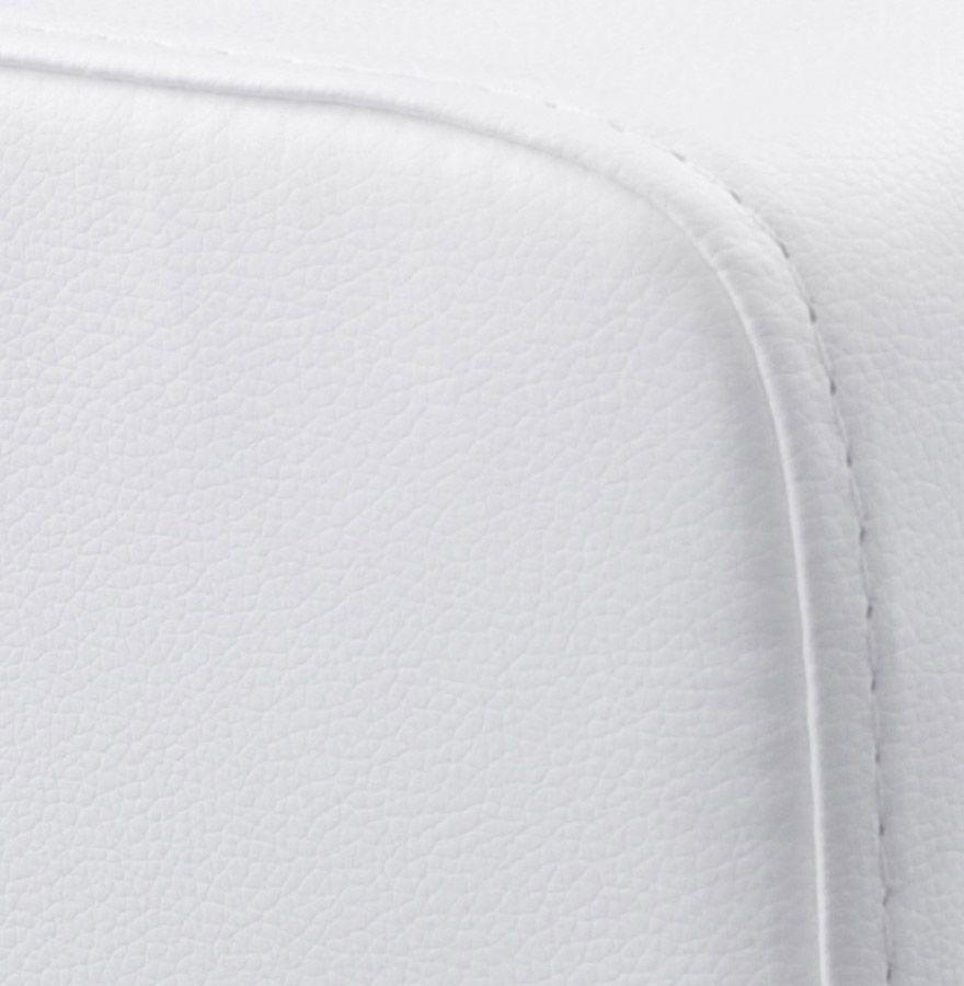 pouf repose pieds rubik blanc. Black Bedroom Furniture Sets. Home Design Ideas