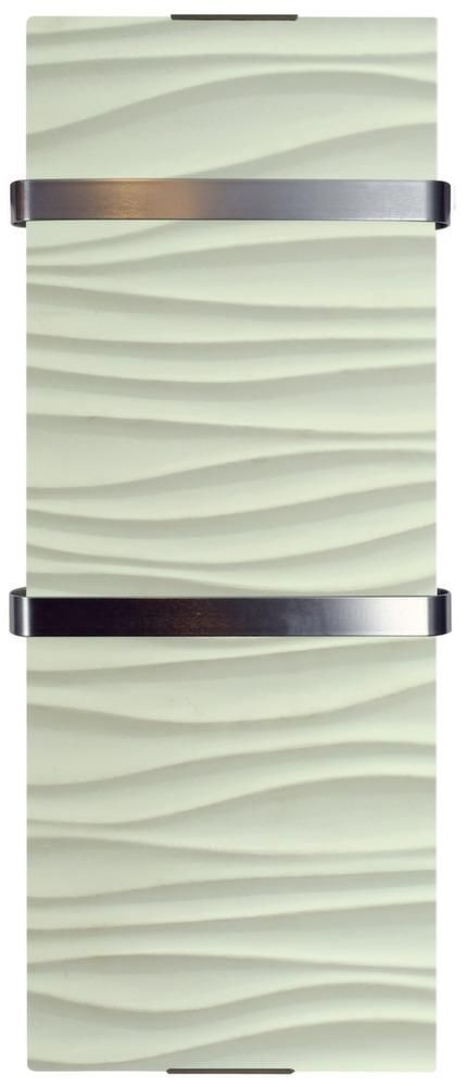 radiateur s che serviette lectrique design ondulation. Black Bedroom Furniture Sets. Home Design Ideas