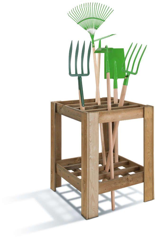 range outils de jardin en bois range outils de jardin sur. Black Bedroom Furniture Sets. Home Design Ideas