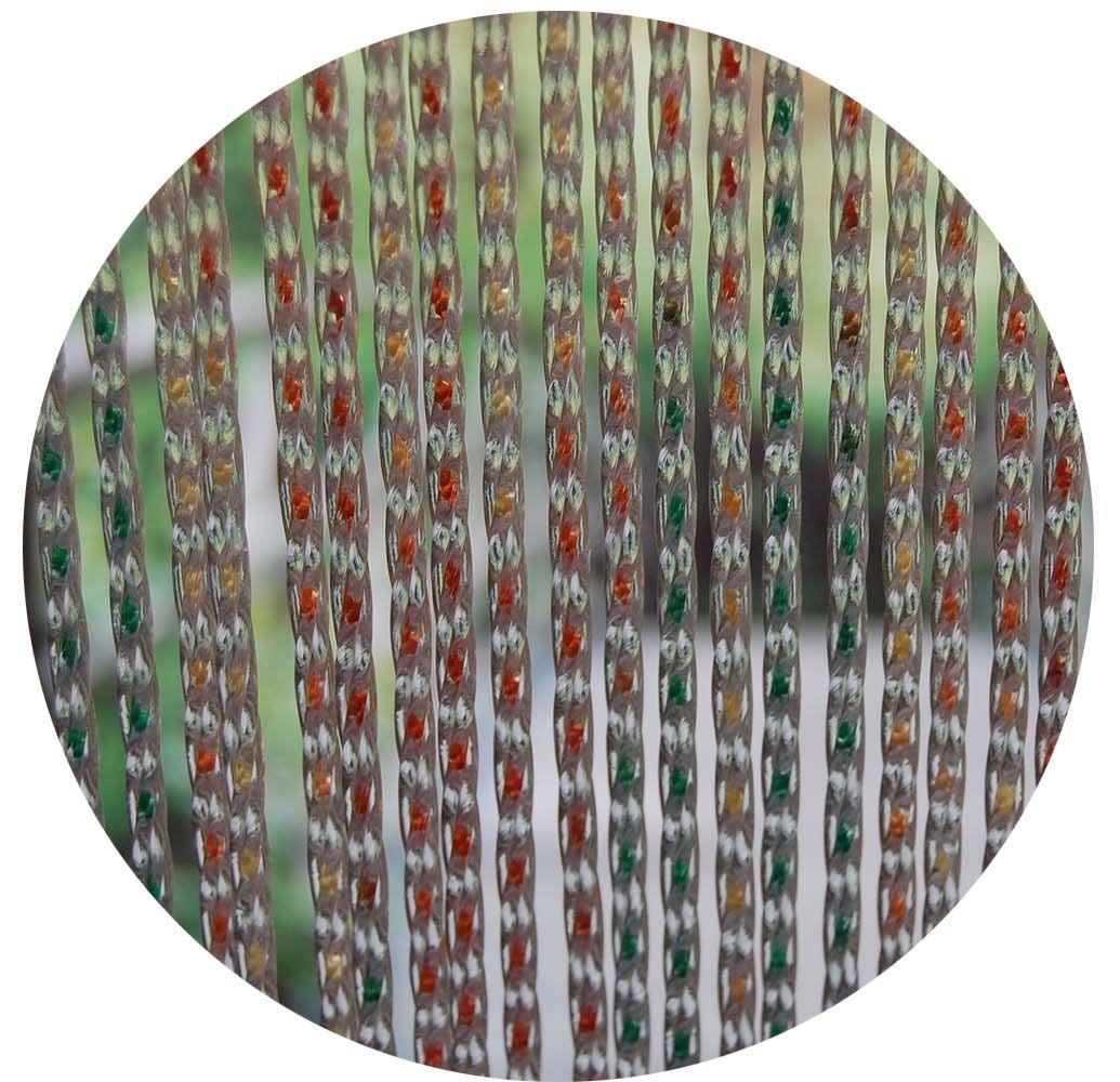 Rideau de porte en pvc lazio multicolore 90 x 210 cm - Rideau de porte exterieur plastique ...