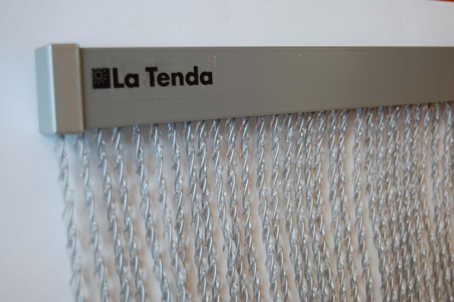 Rideau de porte en aluminium alusax - Rideau de porte exterieur plastique ...